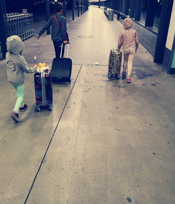 Dzieci w podróży