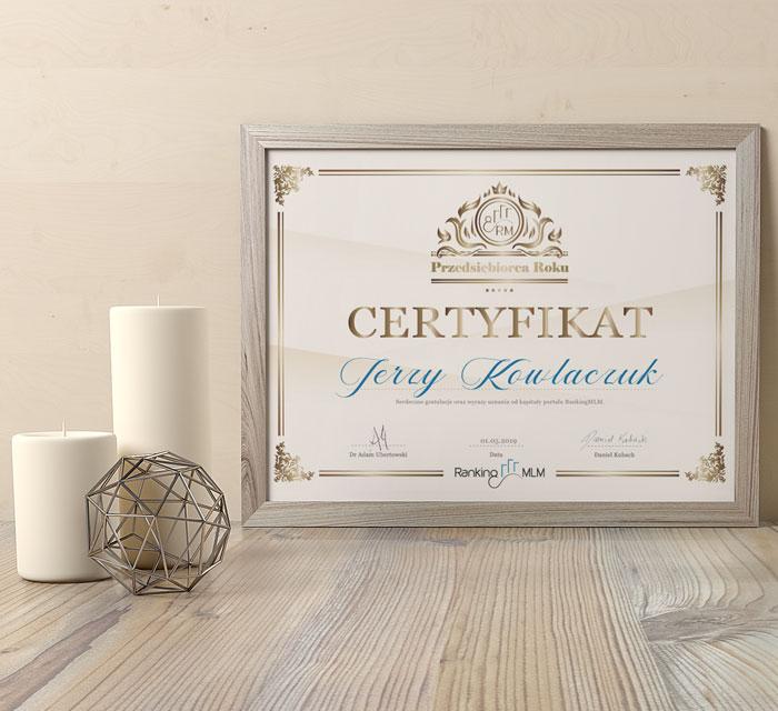 RankingMLM-Przedsiebiorca-Roku-certyfikat-18-06-19-wypisany-przyklad-KP-700x640