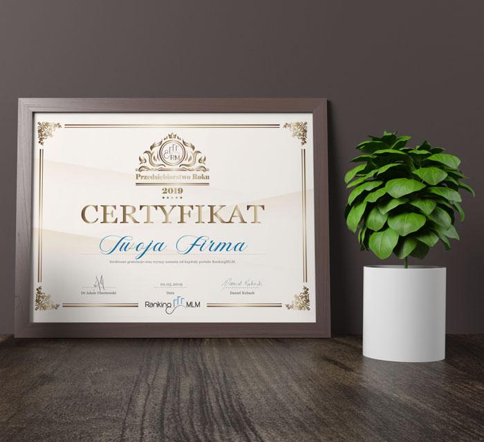 RankingMLM-Przedsiebiorstwo-Roku-certyfikat-18-06-19-wypisany-przyklad-KP-700x640