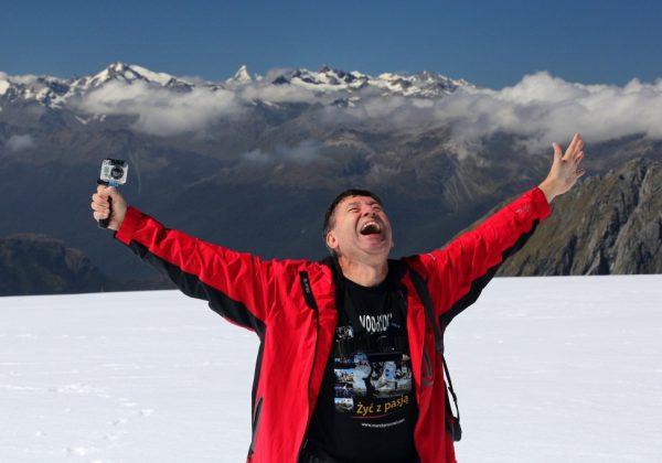 Marek Prucnal w górach