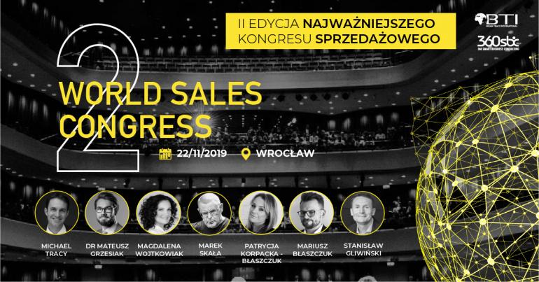 Dołącz do międzynarodowej społeczności WORLD SALES CONGRESS!