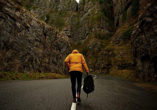 spacer medytacyjny w górach