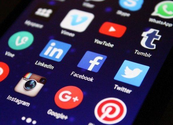 ikony media społecznościowe